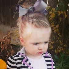 toddler hair toddler hair front twist bun with big bow girl style