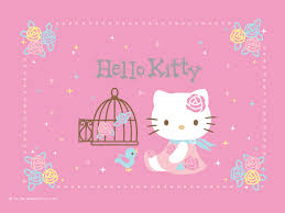 Pink Roses Wallpaper by Hello Kitty Pink Roses Wallpaper P Pinterest Sanrio Hello