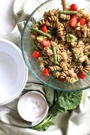 balsamic veggie pasta salad pumpkinandpeanutbutter