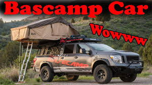 nissan titan pop up camper wowww nissan builds a serious expedition titan xd called
