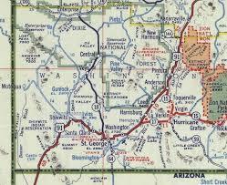 map us hwy highway 91 washington county ut