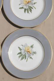 golden china pattern golden peony princess china plates dessert or bread butter