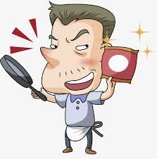 poele à cuisiner un homme qui cuisine de la poêle à frire homme cuisiner image