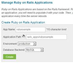 how to setup ruby on rails on webhost learn web tutorials