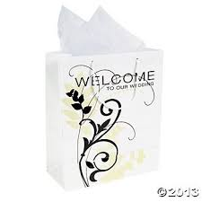 welcome to our wedding bags welcome to our wedding gift bags 12 count treat