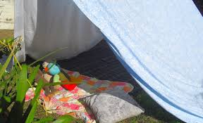 how to make a homemade tent youtube