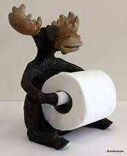 Animal Toilet Paper Holder Sitting Moose Toilet Paper Holder Moose Toilet Paper Holder