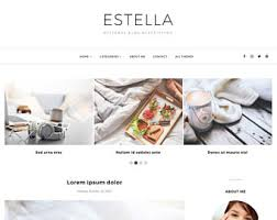templates blogger español responsive blogger templates themes by bloggertemplate on etsy