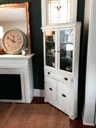 Kitchen Buffet Cabinet Hutch White Kitchen Hutch Cabinet Sequimsewingcenter Com