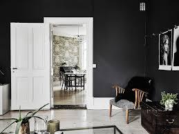 black u0026 white scandinavian interiors that explore the dark side