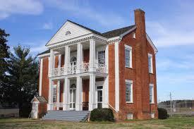 Georgia House Chief Vann House Historic Site Murray County Georgia During The