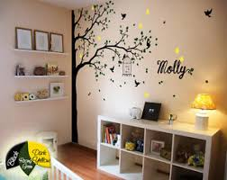 Tree Wall Decor For Nursery Corner Tree Wall Decals Wall Decor Nursery Wall Mural Large