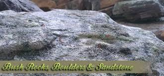 bush rocks boulders u0026 sandstone nudgee road landscape supplies