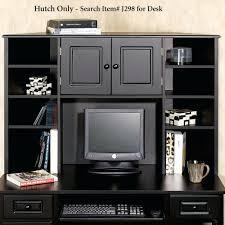 Small Black Corner Desk With Hutch Desk Furniture Small Corner Desks Black Varnished Wood Computer