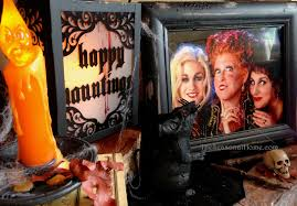 halloween theme hocus pocus movie fan tribute the seasonal home