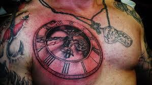 clock tattoo adventure tattoos www adventuretattoos com