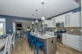 Fischer Homes Design Center Kentucky by Add Some Contrast To Your Kitchen By Adding Blue Accent Pieces