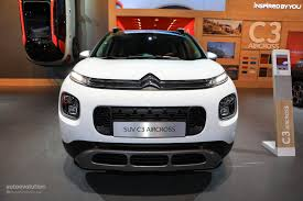 2018 citroen c3 aircross makes mpvs look obsolete at frankfurt