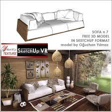 Latest Sofa Designs 2013 Sketchup Model Sofa Design 7 Cover Sketchup Pinterest