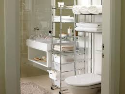 Glass Bathroom Storage Bathroom Storage Ideas Vanity Shelves For Holding Soaps Loation