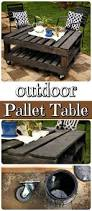 Building Patio Furniture With Pallets - best 25 pallet outdoor furniture ideas on pinterest diy pallet