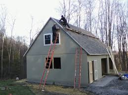 amish shed builders below our chadwick model garage being amish shed builders below our chadwick model garage being built with space
