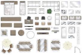 floor plan furniture home design minimalist 2d furniture floorplan top down view psd 3d model 3