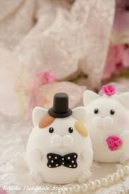 cat wedding cake topper by bonjour poupette 90 00 via etsy