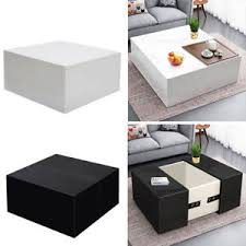 storage cube coffee table concealed storage cube coffee table contemporary compartment high