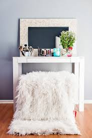 diy parsons desk vanity in the know mom