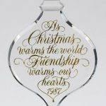 best friend ornament etsy regarding friendship christmas