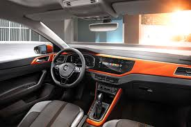 volkswagen polo automatic interior 2018 volkswagen polo revealed for europe automobile magazine