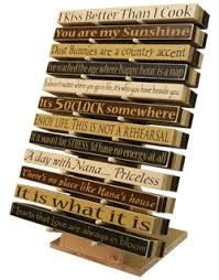 solid wooden signs made in usa inspirational sayings