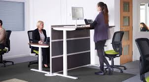 Stand Desks by Why Sit Stand Desks Create A Healthier Work Environment The