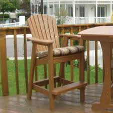 remarkable bar height adirondack chair plans entertain in style
