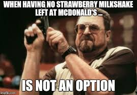 Milkshake Meme - am i the only one around here meme imgflip