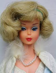 vintage american barbie doll