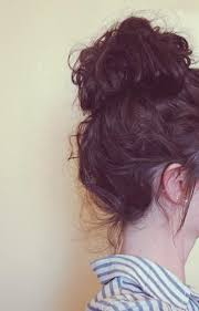 25 unique messy curly bun ideas on pinterest messy bun curly