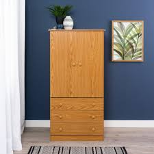 Armoire Chest Of Drawers Prepac Edenvale Oak Armoire Jod 3060 K The Home Depot