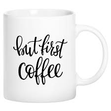 Novelty Coffee Mugs by But First Coffee Cursive Novelty Ceramic Coffee Mug Cup With Gift