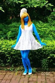Smurf Halloween Costumes Beautiful Ms Smurf Zentai China