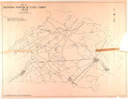 Newark Map Historical Union County New Jersey Maps