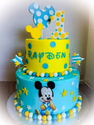 baby mickey 1st birthday birthday baby mickey cakecentral