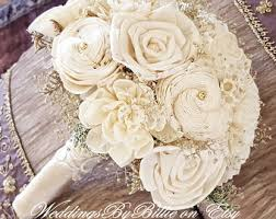 wedding flowers rustic wedding bouquets etsy