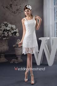 cheap cute a line bateau neckline sleeveless wedding dress