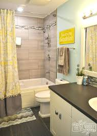 Yellow And Grey Bathroom Decorating Ideas Gray And Yellow Bathroom Decor Tradesman