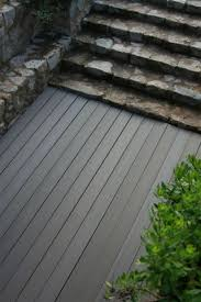 composite deck boards wood look grooved 100 recyclable