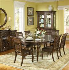 bernhardt belmont round diningtable and 6 dining chairs 7 piece