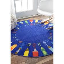 Orange Kids Rug Kids U0026 Tween Round Oval U0026 Square Area Rugs Shop The Best Deals