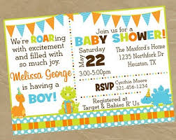 dinosaur baby shower invitation for baby shower inspiring dinosaur baby shower